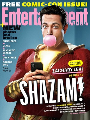 Zachary Levi ~ Entertainment Weekly ~ July 2018