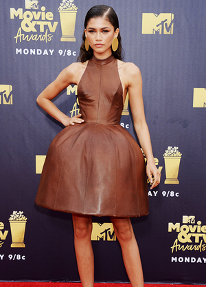 Zendaya at the MTV Movie Awards 2018