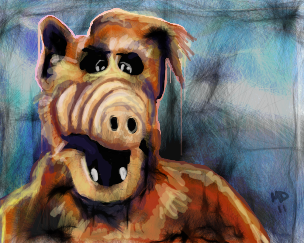Alf Images Alf By Mudimba D4h3kop Hd Wallpaper And Background Photos