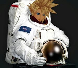 astronaut wolk