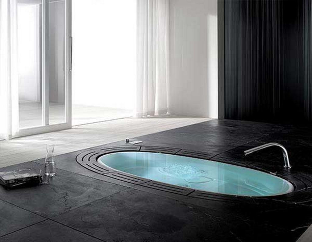 bathroom elegant ideas of cool bath tubs in oval shape with single awesome good looking