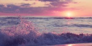 beautiful and magical sunset🌺