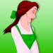 belle icon - disney-princess icon