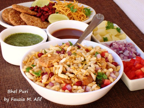 Indian Food wallpaper entitled bhel puri