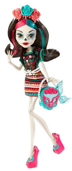 cbx72 monster high monster scaritage skelita calaveras doll and fashion set xxx