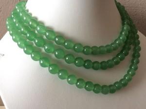 Three-Strand Jade kalung