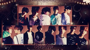 SEVENTEEN_1stLOOK #WALLPAPER