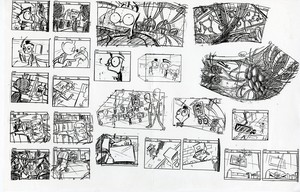 invader zim storyboards
