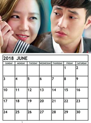 master's sun calendar 2018