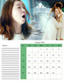 master's sun calendar 2018 - masters-sun-kdrama fan art