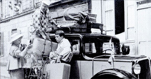 photo Taxi Roulotte et Corrida 1958 1