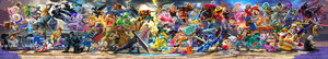 super smash bros ultimate panoramic full visual