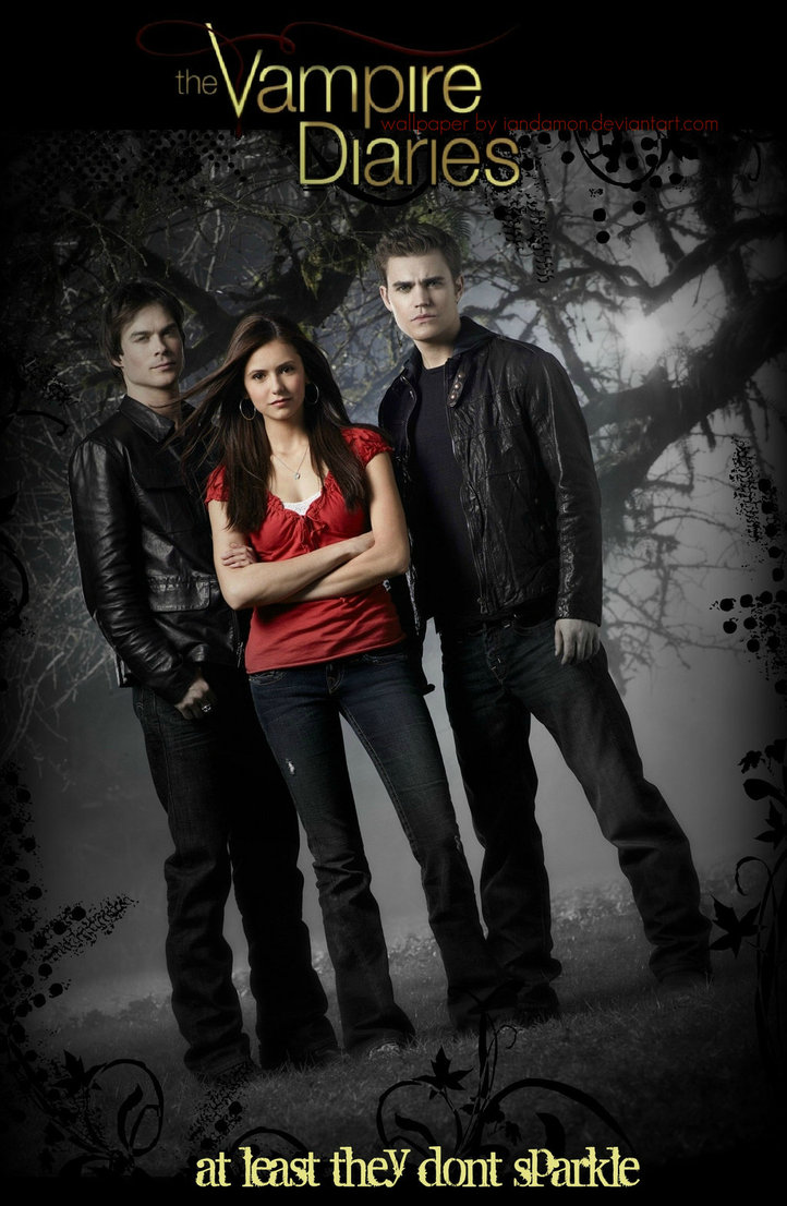 The Vampire Diaries Fondo De Pantalla Por Iandamon D420pzb