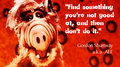 tv and movie quotes to live by  08  alf and talent by lonelyguyinbedroom d6i3uek - alf fan art