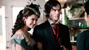 vampiress katherine and damon in 1864
