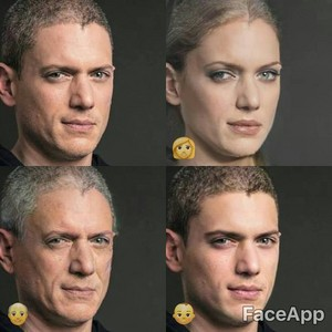wentworth miller-faceapp