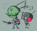 zero my mans - invader-zim-fancharacters fan art