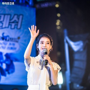 180803 IU at Haeundae Summer Festival