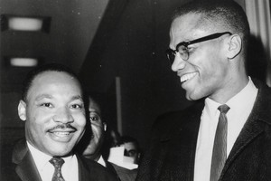 Malcolm X and Martin Luther King Jr
