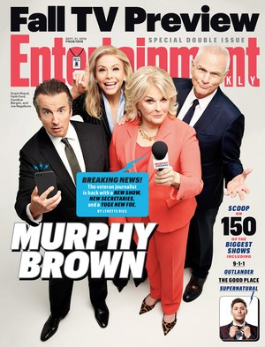 'Murphy Brown' (2018) Cast Portraits with EW