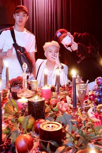 Monsta X fond d'écran called (NAVER) MONSTA X Jooheon MIXTAPE [RED CARPET] MV Behind The Scenes