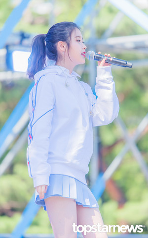 [PRESS] 180909 IU at New Balance Run On 10 1 K