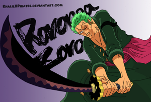 *Roronoa Zoro*