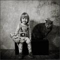 A Girl And Her Kitty - cherl12345-tamara photo