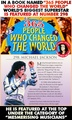 365 People Who Changed The World Featuring World's Biggest Superstar  - michael-jackson photo