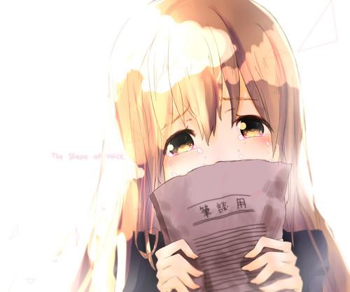 Koe no Katachi দেওয়ালপত্র titled A Silent Voice