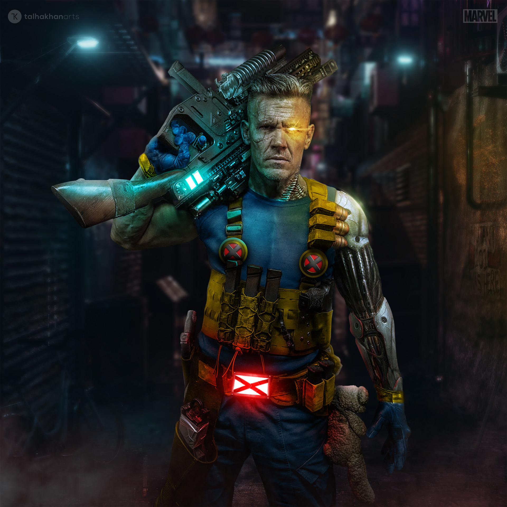 Cable Marvel Comics Bilder A Mehr Accurate Depiction Of Cable Hd