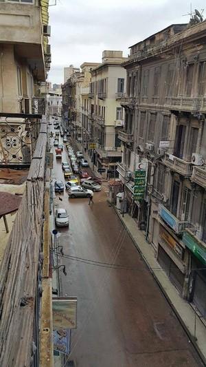 ALEXANDRIA EMPTY strada, via EGYPT