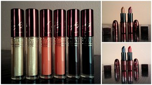 Aaliyah MAC Lipsticks & Lipglasses (my personal collection)