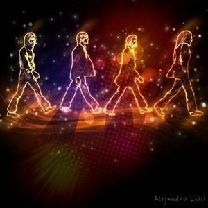 Abbey Road in lights!