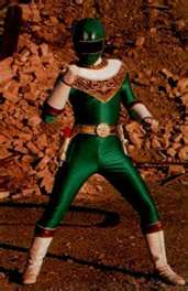 Adam Morphed As The Zeo Green Ranger