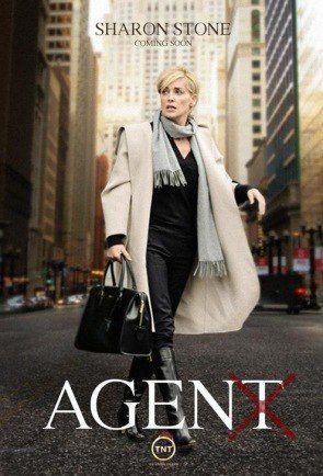 Agent X, TNT poster (Sharon Stone)