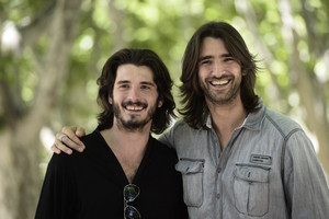 Aitor Luna and Yon González