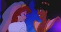 Aladdin and Ariel - disney-crossover photo