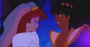 Аладдин and Ariel