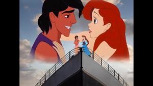 アラジン and Ariel