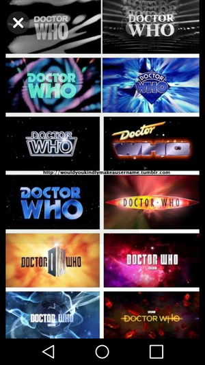 All logos 1963-2018