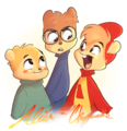 Alvin and the Chipmunks - alvin-and-the-chipmunks fan art