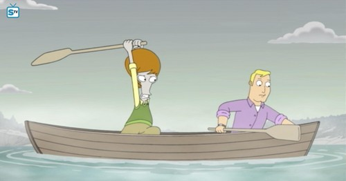 "renard dessins animés fond d'écran entitled American Dad ~ ""A Boy Named Michael"""