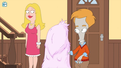 "renard dessins animés fond d'écran titled American Dad ~ ""Blagsnarst, a l'amour Story"""