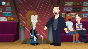 "American Dad ~ ""Roger Passes the Bar"""