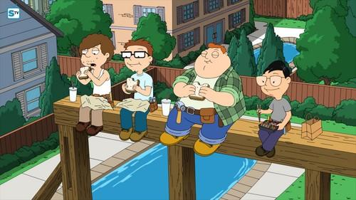 """renard dessins animés fond d'écran entitled American Dad ~ """"Roger Passes the Bar"""""""