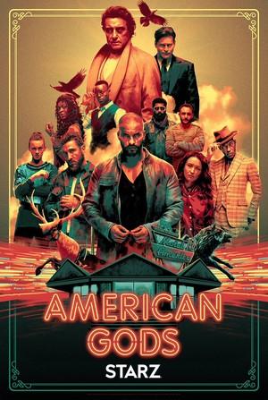 American Gods Season 2 - New York Comic Con Poster