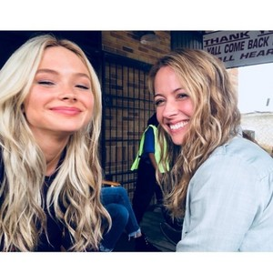 Amy Acker and Natalie Alyn Lind