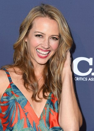 Amy Acker attends the soro Summer TCA 2018 All-Star Party