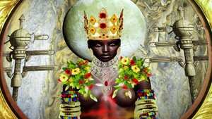 Ancient Igbo African Goddess Moor Canaanite Igbo Named After Europe Europa Iruopa Iruonwa Moon Face